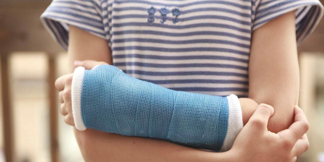 Broken Bone? We have the latest in waterproof casts